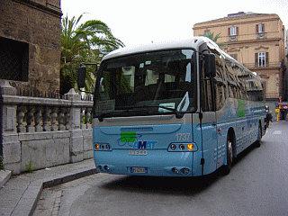 bus in sicilia