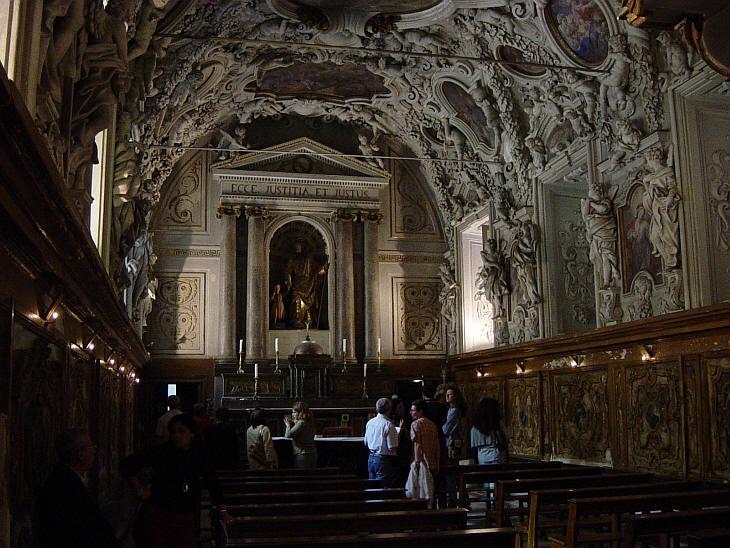 Oratorio san giuseppe dei falegnami foto e descrizione for Facolta architettura palermo