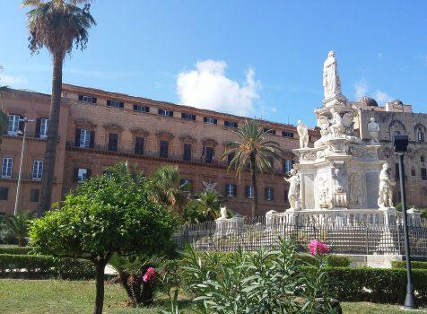 Il Palazzo dei Normanni o Palazzo Reale di Palermo