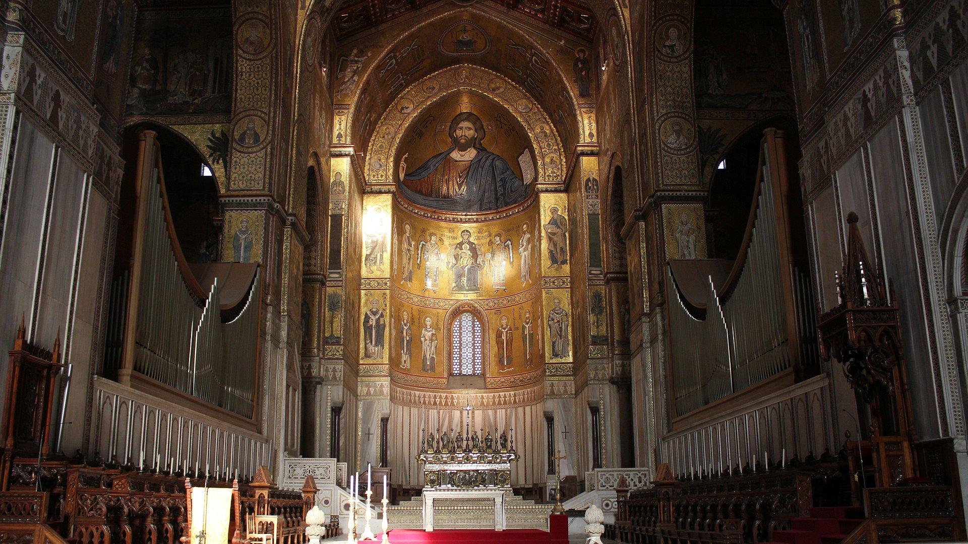 Il Duomo di Monreale, esplosione di bellezza