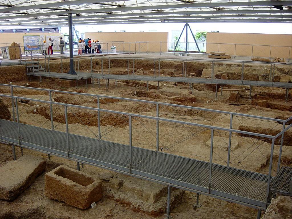 necropoli punica scavi