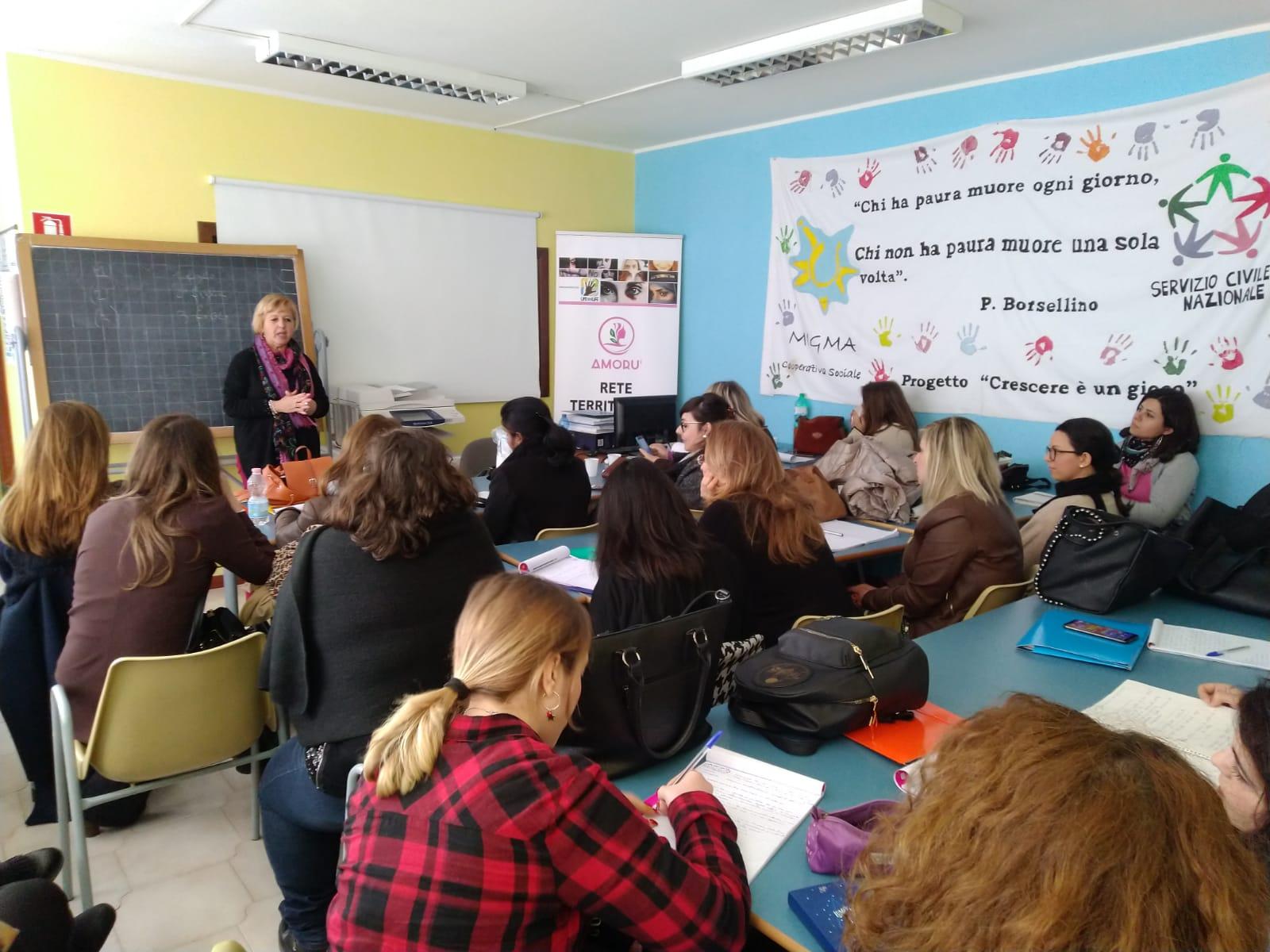 Armonia E Benessere Bagheria amoru' – rete territoriale antiviolenza: prosegue la